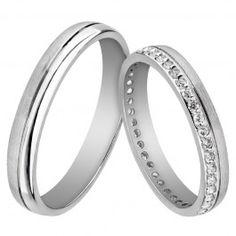Bijuteria teilor: Verighete Platinum Wedding Rings, Bangles, Bracelets, Engagement Rings, Wedding Dresses, Jewelry, Interior, Fashion, Bijoux