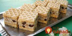 Domaći Kuhar - Deserti i Slana jela: Oblatne sa biskvitom Easy Cake Recipes, Sweet Recipes, Baking Recipes, Cookie Recipes, Dessert Recipes, Desserts, Waffle Cookies, Cake Cookies, Japanese Cheesecake Recipes