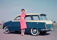 1959 Saab 95 Station Wagon.