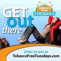 First Tuesday, Enter To Win, Smoke Free