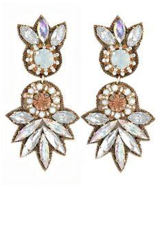 Flower Drop Earrings | Calypso St. Barth