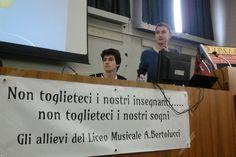 Liceo Musicale Bertolucci: due rappresentanti d' Istituto