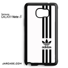 white straight adidas Phone case for samsung galaxy note 5 and another devices