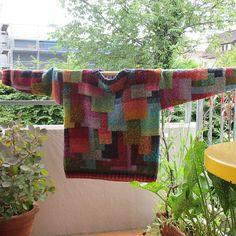 Katja pattern by Kaffe Fassett