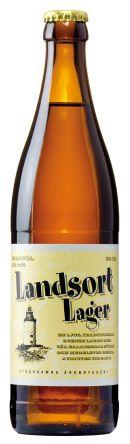 Landsort Lager / En ljus traditionell svensk lager med välbalanserad sötma och medelstor beska.