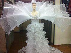 Lady Gaga Flower Dress Costume by DaNeeNa on Etsy, $335.00