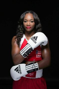 happy birthday to our golden girl claressa shields! Boxing Girl, Women Boxing, Black Girls Rock, Black Girl Magic, Claressa Shields, American Boxer, American Athletes, Women Athletes, Female Boxers