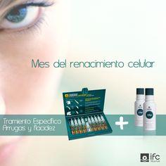 En el mes del renacimiento celular, te proponemos un tratamiento específico arrugas y flacidez. Combina nuestras ampollas Endocare Tensage Ampollas con Endocare Cellage.  Conoce Endocare Tensage Ampollas visitando nuestra web http://www.ifc-spain.com/endocare/tensage/ampollas.html