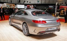 2015 Mercedes-Benz S-class Coupe.