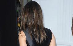 Back of Mila Kunis Hair colour