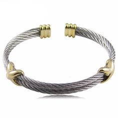 b096695eb5 New Arrival Unisex Punk Style Gold Color Cross Stainless Steel Bracelet &  Bangle For Men And Women (JewelOra