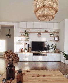 New Living Room, Living Room Decor, Living Room Tv Unit Designs, Diy Casa, Stylish Home Decor, Apartment Living, Home Interior Design, Room Ideas, Future