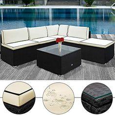 Rattan Lounge Mit Stahlgestell Mailand Braun | Garten Und Heimwerken |  TecTake | Pinterest | Mailand, Rattan Und Lounges