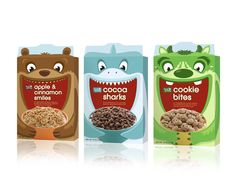 Fresh & Easy Kids Cereals | Packaging of the World: Creative Package Design Archive and Gallery