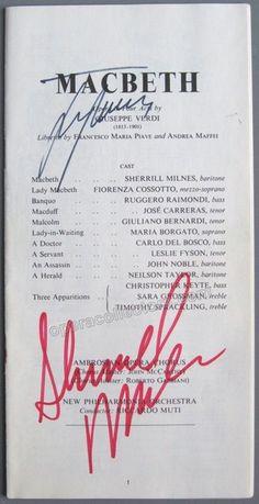 CARRERAS, Jose - MILNES, Sherrill