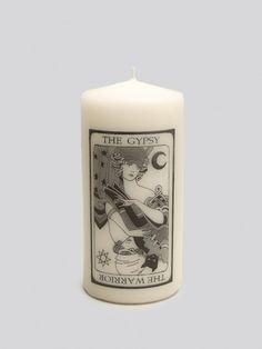 Gypsy Warrior Tarot Candle - Gypsy Warrior