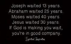 wait on God!