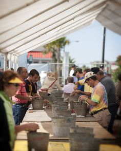 The NC Oyster Festival is a fall tradition, held every October. Shuck a bucket or two of oysters as Ocean Isle Beach pays homage to the treasured shellfish. Festival goers can also enjoy, music, crafts and oyster shucking competition.