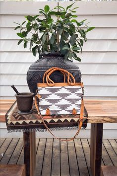 Boho chic bag for summer. Ideal as a work bag or beach bag