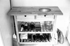 Picture of Kitchen Cart with inset bowl