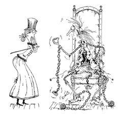 El fantasma de Canterville, Oscar Wilde. Ilustraciones de Oski