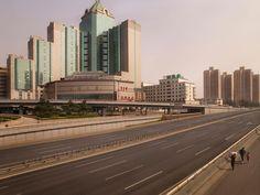 Lucie & Simon  Silent world  Beijing ring roads, C-print, 200x256cm, 2010