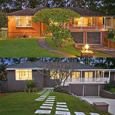 Home Renovation – Remodel Your Living Space - Home Remodeling House Paint Exterior, Exterior House Colors, Exterior Design, Home Exterior Makeover, Exterior Remodel, Home Renovation, Home Remodeling, Small House Renovation, Rendered Houses