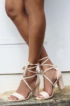 Mesdames tressés sandales en cuir fard à joues en par ForeverSoles