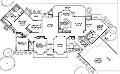 4 Bedroom House Plans All Bedrooms On The Side Same ~ Home Plan ...