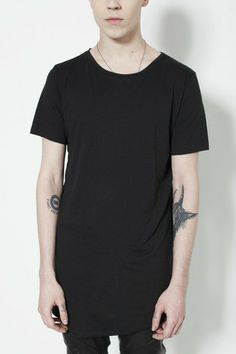Bias T in Black, Ovate, Ovate clothing, Machus, Machus clothing, Been Trill, HBA, Portland Men's clothing – machus