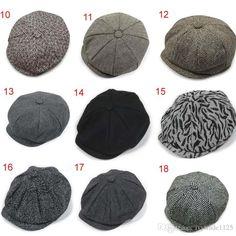 fccd8f0bb1b 2019 New Arrivals Adult Newsboy Caps Hat All Match Berets Winter Warm Cap  Hat More From Ivytrade1125