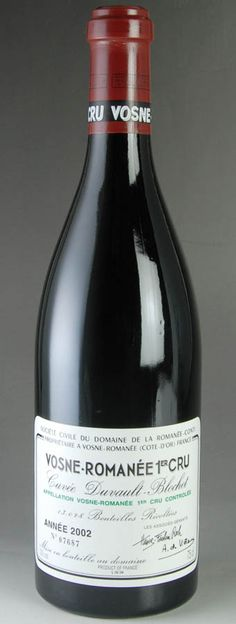 2002 Domaine de la Romanée Conti Vosne-Romanée 1er Cru Duvault-Blochet