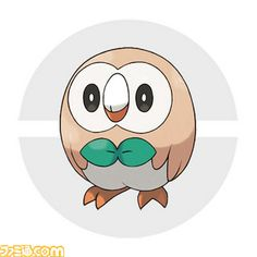 "US Name: Rowlet Jp. Name: Mokuroh (モクロー) Type: Grass/Flying-type Classification: Grass Quill Pokémon Height: 1'00"" Weight: 3.3lbs Ability: Overgrow Final evolution type prediction staying Grass/Flying"