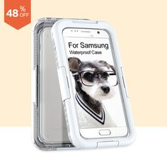 Seal Waterproof Case Summer Swimming Cover On The for Samsung Galaxy S6 S7 edge Plus Case Clear Phone Bags Shell Pouch  Shell