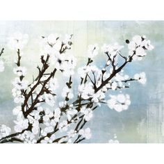 Gallery-wrapped and ready-to-hang canvas print with floral motif.Product: Wall artConstruction Material: Canvas