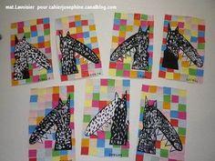 mine de rien le loup qui voulait changer de couleurs craft ideas pinterest. Black Bedroom Furniture Sets. Home Design Ideas