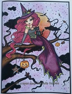 """Victoria""  Enchanted Halloween - Hannah Lynn"