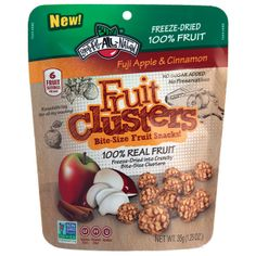 @Brothers-All-Natural Apple Cinnamon Fruit Clusters