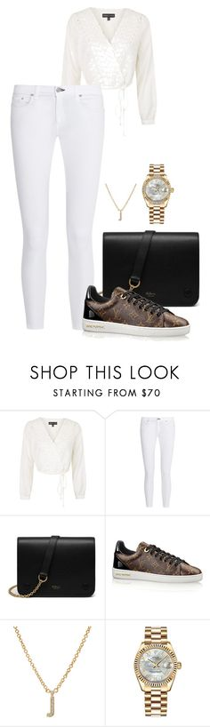 """Untitled #2412"" by moxfordf on Polyvore featuring Topshop, rag & bone, Mulberry, Jennifer Meyer Jewelry and Rolex"