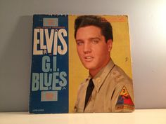 RARE 1960 Elvis Presley GI Blues Soundtrack by 21Vintage on Etsy, $15.00