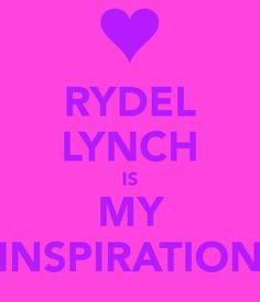 Rydel+Lynch | RYDEL LYNCH IS MY INSPIRATION - KEEP CALM AND CARRY ON Image Generator ...
