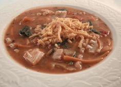 Turkey Lasagna Soup - A Thanksgiving Leftovers Recipe