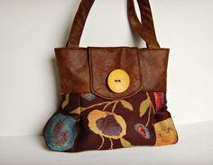 Handbag  Jet Setter by cayennepeppybags on Etsy, $75.00