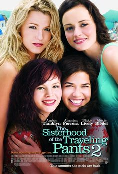 Sisterhood of the Traveling Pants 2 posters for sale online. Buy Sisterhood of the Traveling Pants 2 movie posters from Movie Poster Shop. We're your movie poster source for new releases and vintage movie posters. 2 Movie, Movie List, Love Movie, Girly Movies, Teen Movies, Chick Flicks, America Ferrera, Jeans, Movies Worth Watching