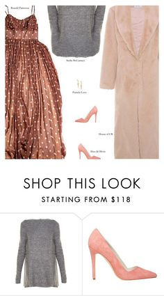 """""""Untitled #3906"""" by amberelb ❤ liked on Polyvore featuring STELLA McCARTNEY, Alice + Olivia, Pamela Love and vintage"""