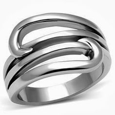 Spring Stainless Steel Women's Fashion Ring