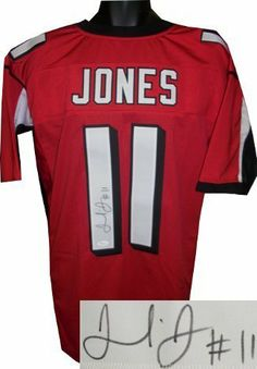 6cac138abef Julio Jones signed Atlanta Falcons Red Prostyle Jersey- JSA Hologram .   270.18. Julio Jones