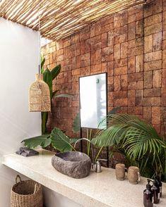 Beyond the bungalows - a new boutique hotel - . - Beyond the bungalows – a new boutique hotel – - Bungalows, Bali Decor, Bali House, Tropical Houses, Tropical Decor, Tropical House Design, Tropical Interior, Tropical Bathroom Decor, Tropical Kitchen