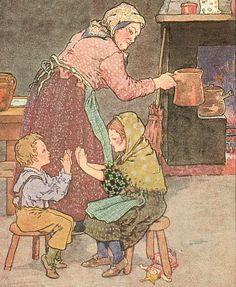 Pease Porridge Hot - Mama Lisa's House of English Nursery Rhymes, Intro Image