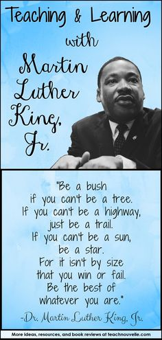 Martin Luther King Jr. and Taking Action - Nouvelle ELA Teaching Resources